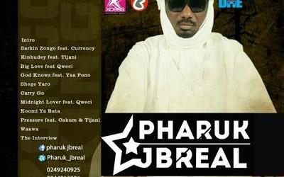 Pharuk Jbreal Releases Zongo King EP